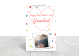 "A5 gloss coated father's day card ""Grandad"" ref FD11"