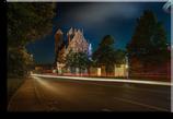 Nachttreiben in Prenzlau - Leinwand