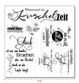 """Serviette 22 """"Kuschelzeit"""""""