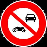 """B7a """" interdiction dont sont exclus les cyclomoteurs"""""""