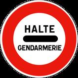 """B5a """"halte gendarmerie"""""""