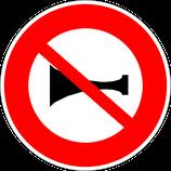 """B16 """"Signaux sonores interdits"""""""