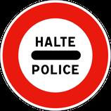 """B5b """"halte police"""""""