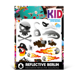 Reflective Berlin reflecterende stickers Kids
