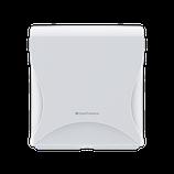 """Dispenser Essentia """"Compact"""" für Falthandtücher Multifold (Z, V, C, W, M)  weiss / schwarz"""