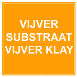 Vijversubstraat vijver klay (half jaar pakket)