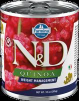 Farmina N&D Quinoa Weight Management Lamm & Brokkoli