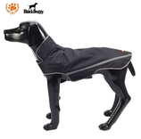 Black Doggy Regenmantel