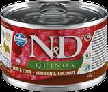 Farmina N&D Quinoa Skin + Coat Hirsch