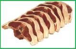 Lamm-Rückenkotelett vom Sattel