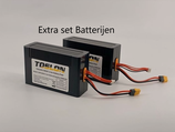 Set batterijen 12.8 aH