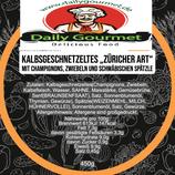 """Kalbsgeschnezeltes """"Zürcher Art"""""""