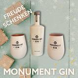 Monument Gin 0,5ltr. incl 2 x Original Monument-Gin-Becher im Set