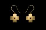 Ohrringe, Kreuz