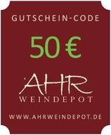 50 € Gutschein-Code per Mail