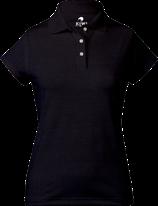 Kiwi Polo Mujer Negro