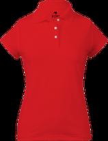 Kiwi Polo Mujer Rojo
