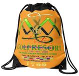 Rucksackbeutel, Kulturbeutel, Turnschuhbeutel ` Golfresort-Barbados ` Farbe orange