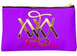 Kosmetiktasche ` Felicitas ` in Farbe Lila Nr. 18