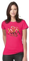Damen T-Shirt kurzarm - PINK