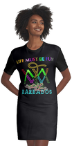 T-Shirtkleid ` Live must be Fun ` -  `  Barbados `Sandy Lane `