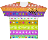 Kurzarm Shirt ` AMAZING ` Majestic World Nr. 4