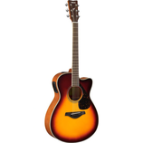 FSX820C Solid Top Mahogany back/sides Guitar with Slightly Smaller Body for Comfort