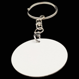 Aluminum Double Sided Sublimation Key Chain - Circle