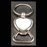 Heart Metal Key Chain bottle opener