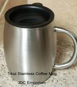 14 oz Stainless Coffee Mug