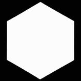 Hexagon Sublimation Ceramic Coaster