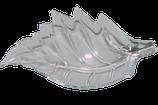 Futterschale in Blattform aus Acryl