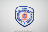 Patch Notfallkrankenwagen RTW USA Colorado EMT Broomfield Emergency Ambulance Life Support