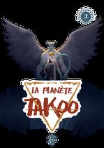 Stickers de la couverture du tome 3 de La Planète Takoo