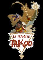 Stickers de la couverture du tome 4 de La Planète Takoo