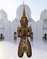 Tempelwächter mattgold
