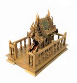 Geisterhaus gold-antik mit Plattform