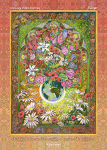 Zodiaque des Fleurs, Vierge, BZ6