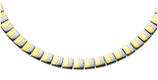 Collier magnétique bicolore (4454)