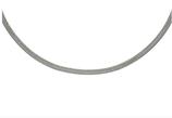Chaîne magnétique Milanaise Argentée (4594)