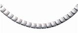 Collier magnétique design mat-brillant (4453)