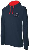 Sweat shirt à capuche marine homme (K446)