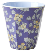 Rice - Melamine Cup Two Tone, Hanging Flower Print