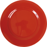Rice - Melamine Dinner Plate, Red