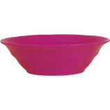 Rice - Melamine Soup Bowl, Fuchsia