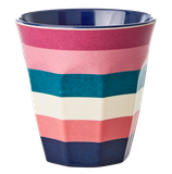 Rice - Melamine Cup Two Tone, Stripe Print