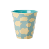 Rice - Melamine Kids Cup - Cloud Print Small