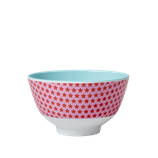 Rice - Small Melamine Bowl Two Tone with Girls Star Print