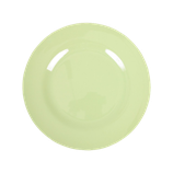 Rice - Melamine Round Side Plate, Mint