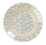 Rice - Melamine Kids Bowl - Cloud Print